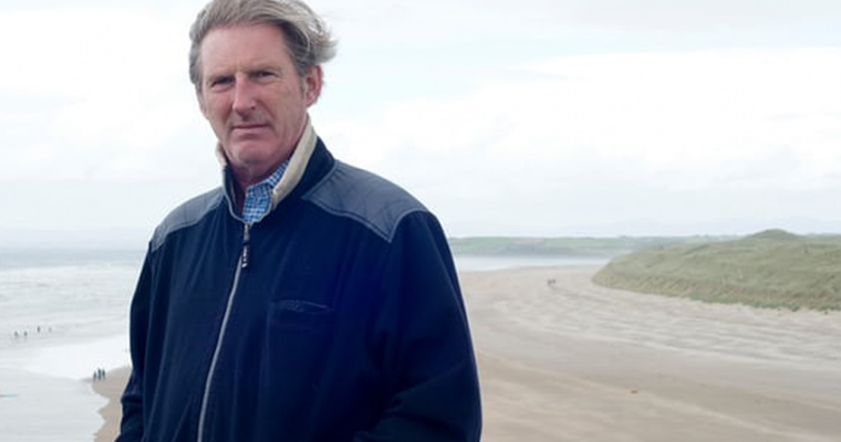 Adrian Dunbar on directing Homer on a Donegal beach – and his fears for Line of Duty