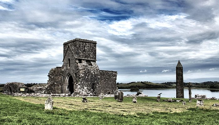 DEVENISH ISLAND TRIPTYCH
