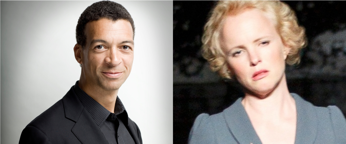 [left] Roderick Williams OBE (baritone), [right] Kerstin Avemo (soprano)